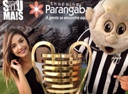 Taça da Copa do Nordeste está em exposição no Shopping Parangaba