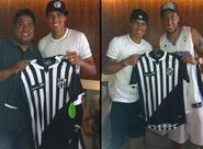 Fernando Henrique presenteia amigo Thiago Silva com camisa do Vozão