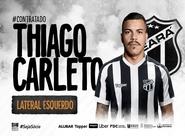 Novo reforço! Vovô acerta contratação do lateral esquerdo Thiago Carleto