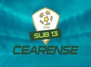Pela categoria sub-13, base do Ceará chega à sua quarta final estadual em 2019