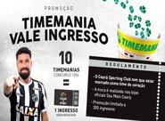 Troque apostas da Timemania por ingressos de Ceará e Sport