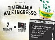 Troque apostas da Timemania por ingressos de Ceará x CRB na Arena Castelão