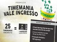 Troque aposta da Timemania por ingresso para Ceará x Luverdense (Série B)