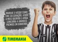 Troque apostas da Timemania por ingresso de Ceará x Criciúma