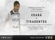 Contra o Tiradentes, Vozão faz sua estreia no Estadual 2016