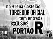 Na Arena Castelão, Torcedor Oficial tem entrada exclusiva no Portão R