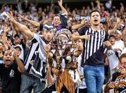 Ceará é o único clube do estado entre os 20 primeiros no ranking da CBF
