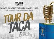 Loja Sou Mais Ceará do Shopping Aldeota recebe Tour da Taça da Copa do Nordeste