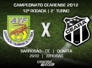 Iniciando o returno do Estadual 2012, Ceará enfrenta o Trairiense