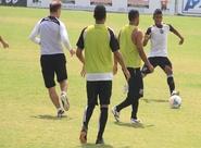 Grupo do Ceará encerrou a preparação para o duelo contra o Joinville