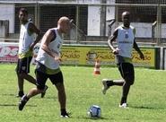 Elenco já treinou em Porangabuçu