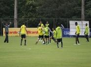Alvinegro encerra treinamento na Toca da Raposa