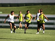 Time treina em Goiânia