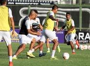 Grupo se reapresentou e o torcedor alvinegro lotou o Estádio Vovozão