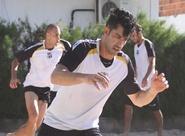 Grupo se reapresentou e participou de treinos físicos