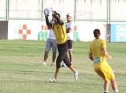Alvinegros participaram de treino técnico/tático no Vovozão