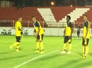 Após chegada, grupo alvinegro treinou em Goiânia/GO
