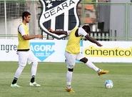 Elenco do Ceará finalizou preparação para jogo contra o Vitória