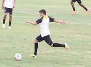 Ricardinho encerrou a preparação para o jogo contra o Tiradentes