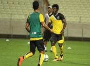 No Castelão, Sérgio Soares encerrou os preparativos do time