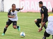 Sérgio Soares comandou treino tático na tarde de hoje