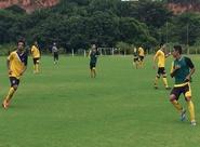 Antes de seguir para Curitiba/PR, grupo trabalhou nesta manhã
