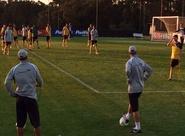 Alvinegros encerraram os preparativos para o jogo diante do Paraná