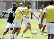 Antes da viagem para Florianópolis/SC, grupo treinou no Vovozão