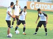 Sob o comando de Sérgio Soares, grupo participou de treino tático