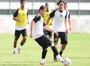 De olho no Bragantino, Sérgio Guedes comandou um treino tático