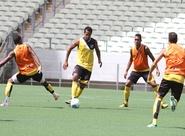 Ceará fez treino tático na Arena Castelão