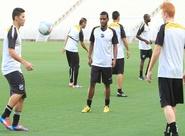 Sérgio Soares comandou um treino coletivo, na Arena Castelão