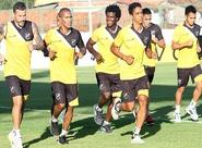 Pensando na decisão contra a Portuguesa, Ceará treinou nesta tarde
