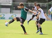 Em treino coletivo, Sérgio Soares encerrou a preparação do Ceará