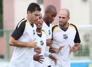 Ceará fez o último treino antes da viagem para SP