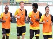 Preparação para jogo contra o Maranguape começou nesta tarde