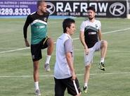 Alvinegros se reapresentaram na tarde desta segunda-feira