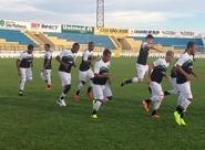 Nesta tarde, Ceará encerrou preparação para jogo de amanhã