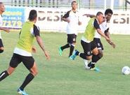 Sérgio Soares encerrou a preparação do grupo com treino coletivo