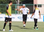 Com treino tático, Sérgio Soares preparou o time para encarar o Vitória