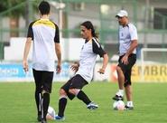 Ceará treinou nesta tarde e segue focado no Palmeiras