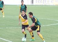 Alvinegros participaram de treino coletivo nesta tarde