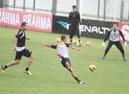 Leandro Campos encerrou os trabalhos com treino tático
