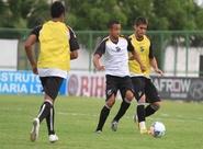 Grupo do Ceará encerrou a preparação para o jogo contra o Palmeiras