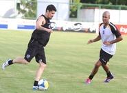Pré-temporada: Grupo alvinegro realizou o último treino em 2013