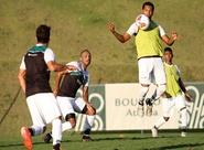 Ceará finalizou preparação para encarar o Bragantino nesta tarde