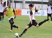 Pensando no Treze, grupo do Ceará treinou nesta tarde