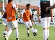 Sexta-feira foi de treinos técnicos e táticos no estádio Vovozão
