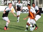 Alvinegro treinou nesta tarde e seguiu viagem para Aracaju/SE
