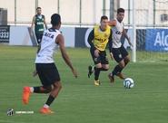 No Vovozão, Ceará finaliza preparação para enfrentar o Palmeiras
